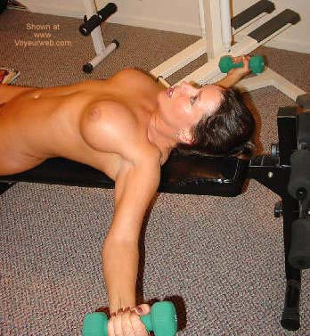 Pic #2 - *WO Erica Works Up a Sweat