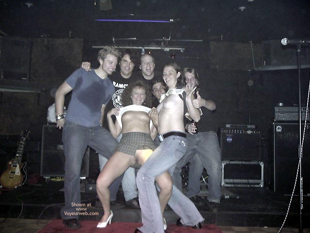 Pic #3 - *GG With The Band at The Bar