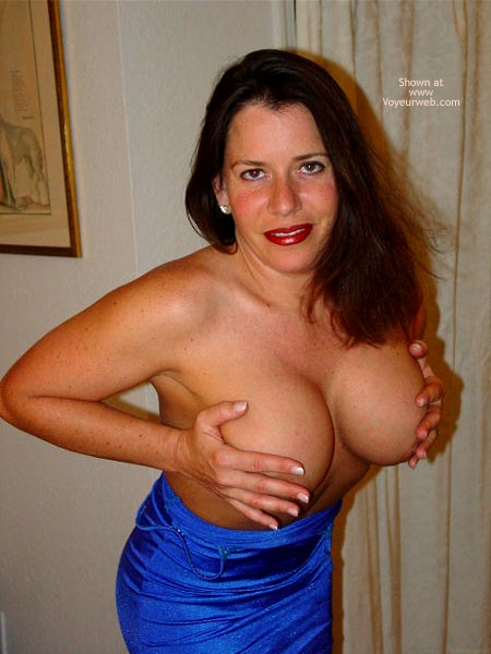 Pic #6 - Erica's Boobs In and Out