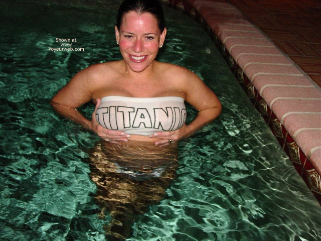 Pic #7 - Erica's Boobs In and Out