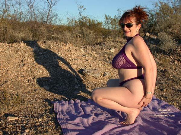 Pic #8 - Buxomgirl38e In Purple Lace!