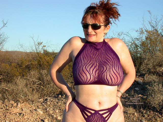 Pic #2 - 2nd Half Of Buxomgirl38e In Purple Lace!