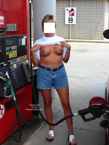 Pic #1 - Classy Wife Roadside Fun