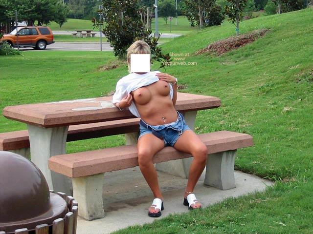 Pic #5 - Classy Wife Roadside Fun