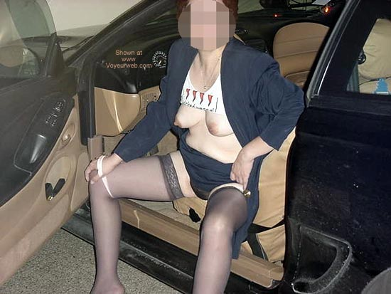 Pic #1 - Charlene Coming Home From Work 1