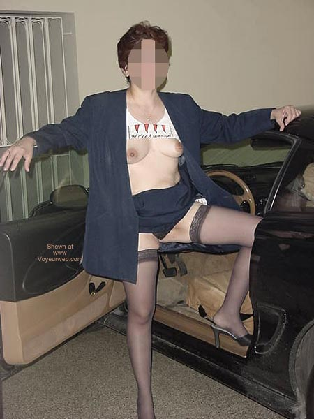 Pic #2 - Charlene Coming Home From Work 1