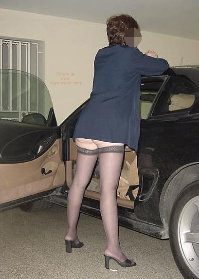 Pic #3 - Charlene Coming Home From Work 1