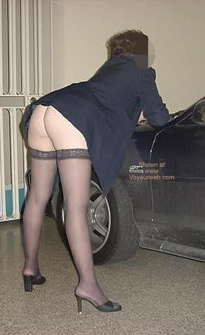 Pic #4 - Charlene Coming Home From Work 1