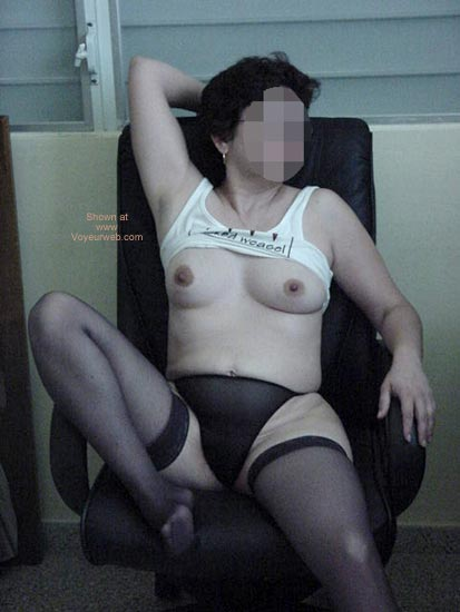 Pic #7 - Charlene Coming Home From Work 1