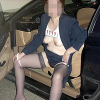 Charlene Coming Home From Work 1