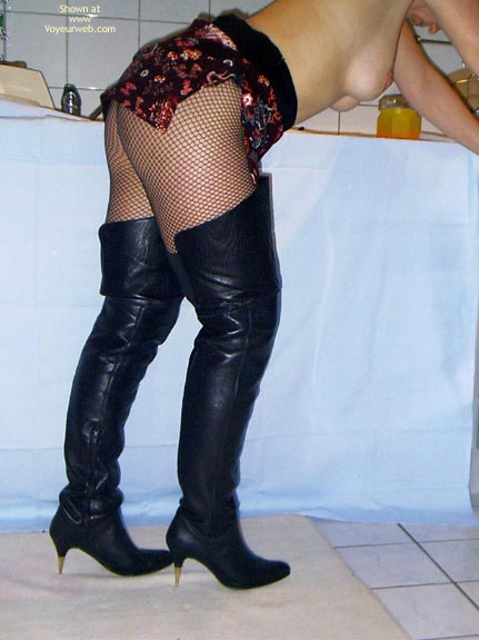 Pic #5 - *Ny Meine Frau In Boots, High Heels Und Stockings
