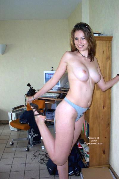 Pic #2 - My Gf Alice 22 Yo From France