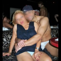 Angie Getting A Lap Dance