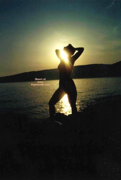 Pic #3 - My Beachbaby In The Sunset