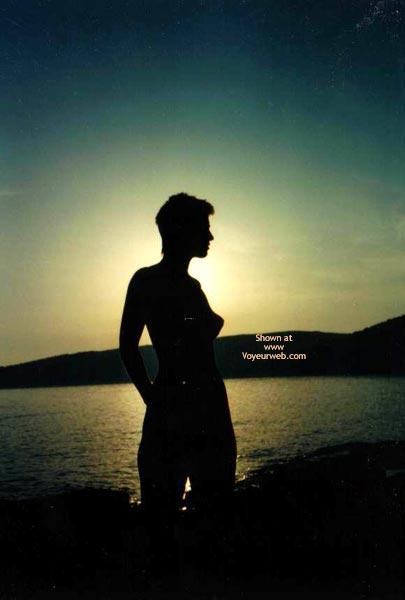 Pic #4 - My Beachbaby In The Sunset