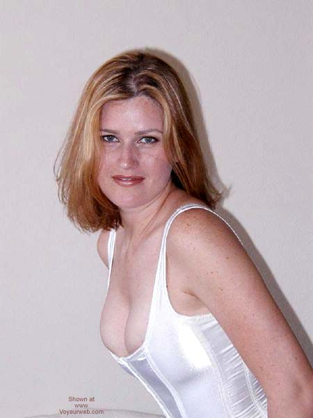 Pic #5 - White Corset With Ties