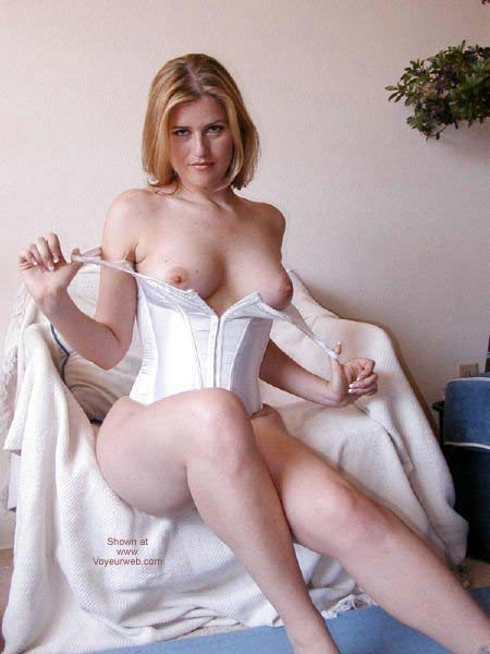 Pic #9 - White Corset With Ties
