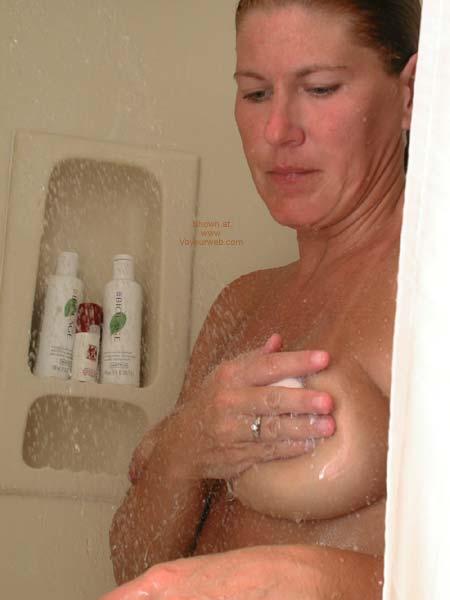 Pic #5 - Claire Cums Clean