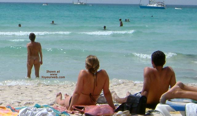 Pic #7 - On a Public Beach