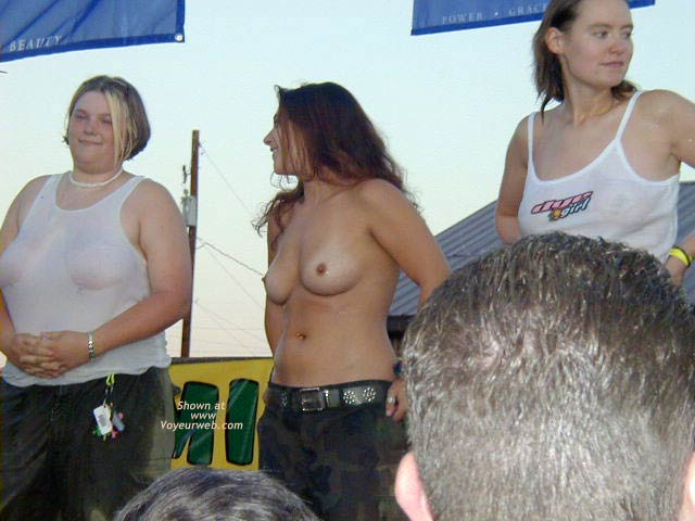 Pic #3 - Wet T-shirts at Paintball Game 2