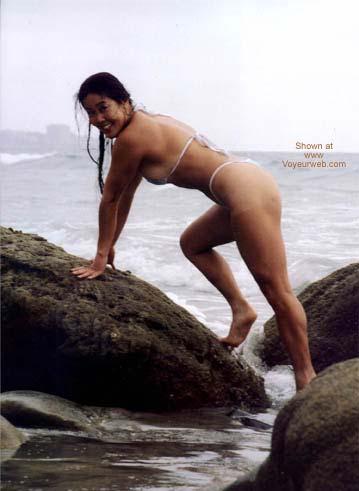 Pic #2 - Asian Lani Nude at Blacks Beach 6