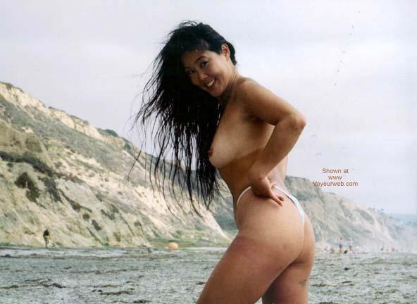 Pic #5 - Asian Lani Nude at Blacks Beach 6