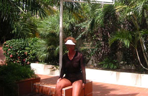 Pic #2 - Renee's Vacation Transparent Top - P&P