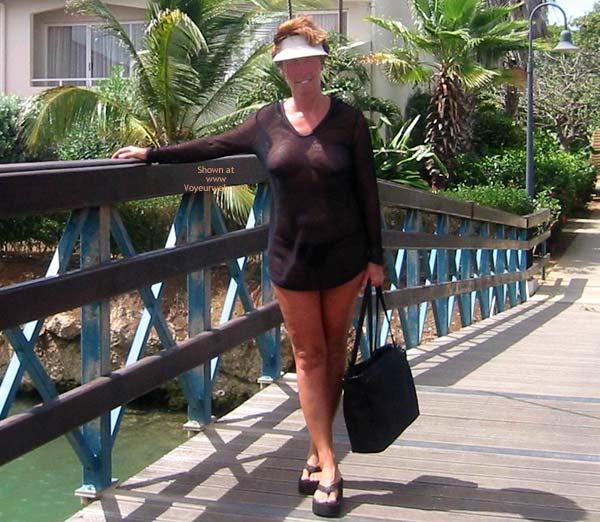 Pic #8 - Renee's Vacation Transparent Top - P&P