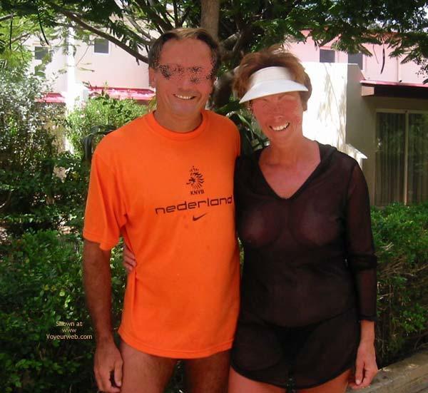 Pic #9 - Renee's Vacation Transparent Top - P&P