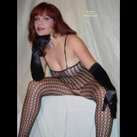 Paige In Black Bodystocking