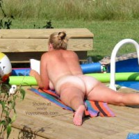 *NT Sexy 40's Wife at Pool