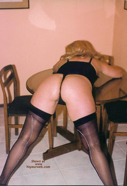 Pic #1 - My Wife in Stockings II