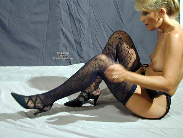 Pic #1 - TL Tries On Some New Stockings