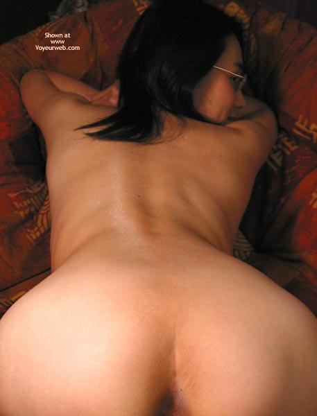 Pic #6 - Sachi Spreads Ass On The Chair