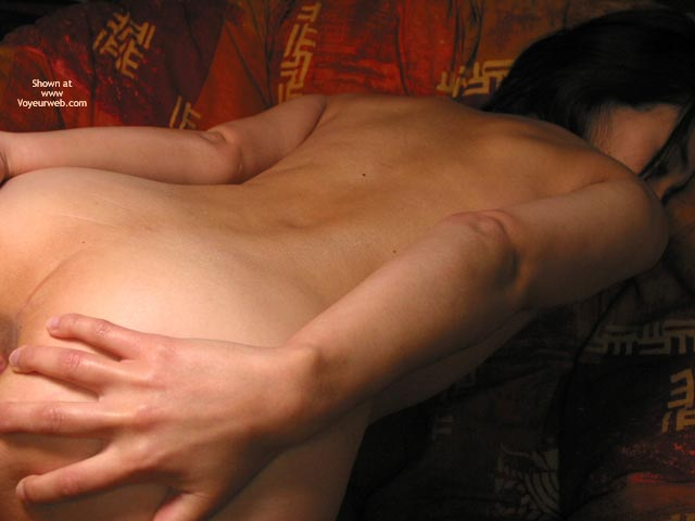 Pic #8 - Sachi Spreads Ass On The Chair
