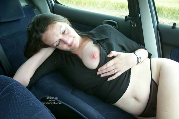 Pic #2 - UK Jo in The Car