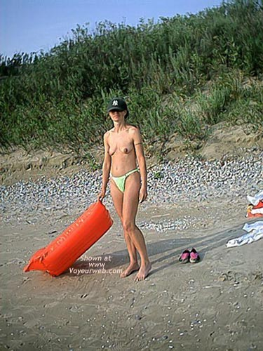 Pic #2 - My Wife at Beach