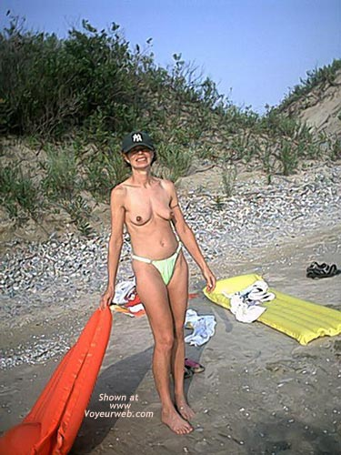 Pic #3 - My Wife at Beach