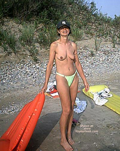 Pic #5 - My Wife at Beach