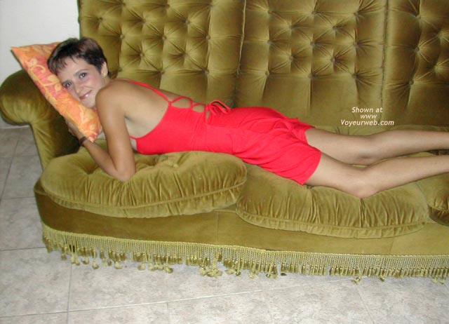 Pic #2 - Spanish Alicia, Red Dress & Sandals