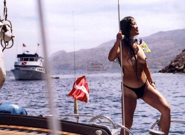 Pic #9 - Lani Nude in Public, Skin Diving 2