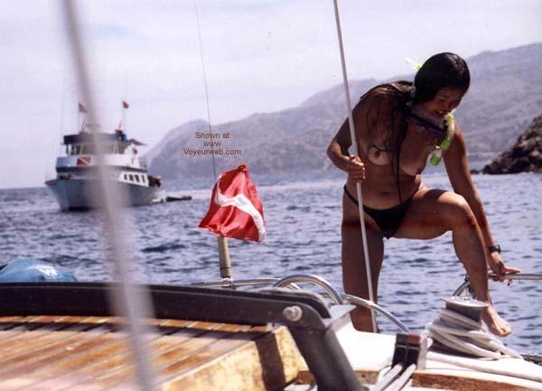 Pic #10 - Lani Nude in Public, Skin Diving 2