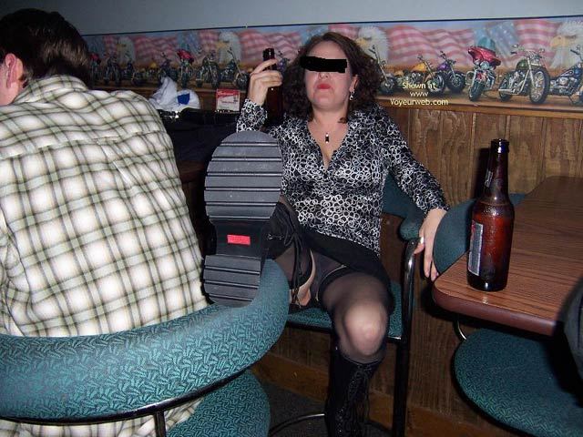 Pic #2 - Traci At The Bar 2