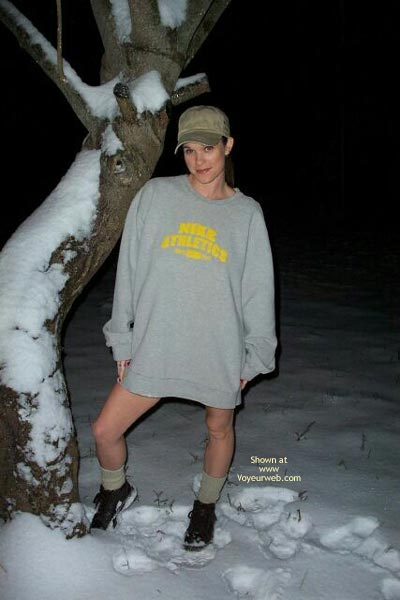 Pic #1 - Angelic Michele Playing In The Snow