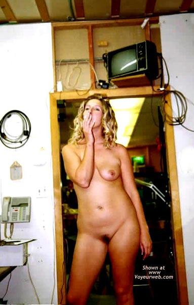 Pic #3 - Ann Having Fun at Work