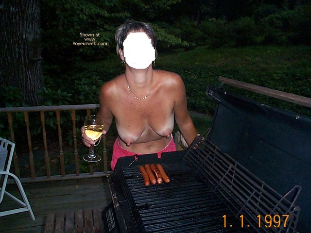 Pic #1 Backyard Girl Grilling Out at Various Times 1
