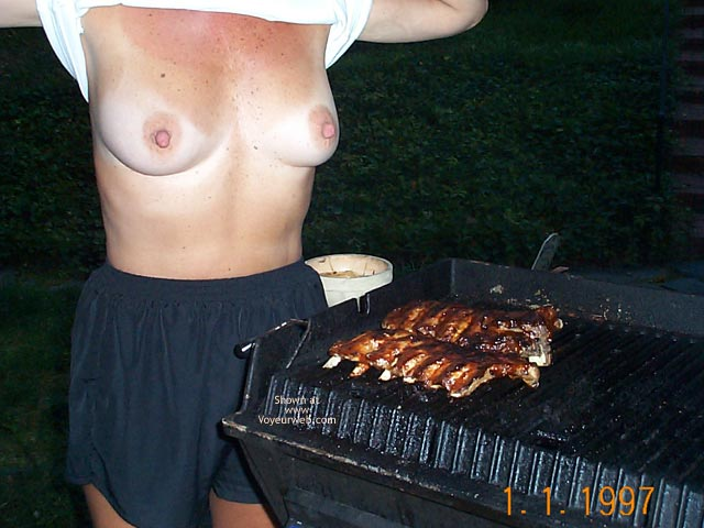 Pic #5 Backyard Girl Grilling Out at Various Times 1