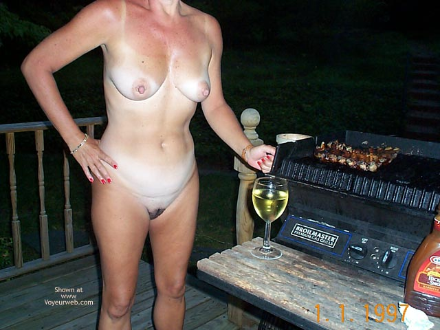 Pic #8 Backyard Girl Grilling Out at Various Times 1