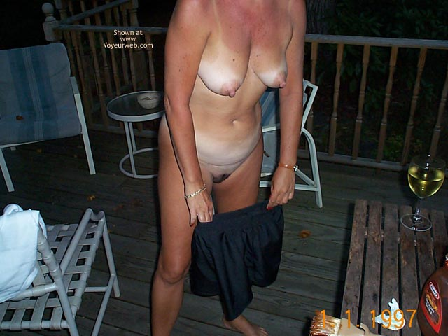 Pic #9 Backyard Girl Grilling Out at Various Times 1