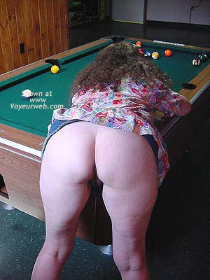 Pic #3 - Babe Shooting Pool